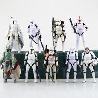 "Star wars the Black Series 6"" Boba Fett Darth Maul Darth Vader Action Figure Toy"