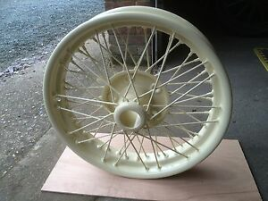 Alvis Firefly Silver Eagle 12/50 Vintage Wheel Restoration TUDOR WHEELS LTD