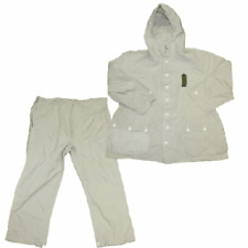Swiss army surplus 2 piece snow camouflage over suit