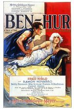 Ben Hur - 1925 - Ramon Novarro Fred Niblo Vintage Silent b/w  Film DVD