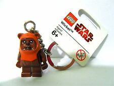 LEGO Star Wars Minifigure Key Ring / Key Chain WICKET New NWT HTF