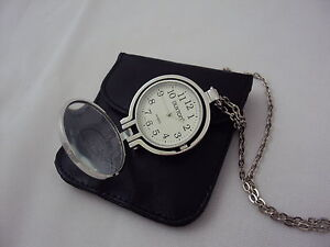 Watch Magnifying Pendant by Buxton 40 inch chain Brand NEW Free Shipping!