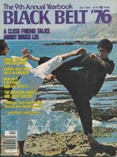 Bruce Lee rare Black Belt Magazine! 1976 Year Book!