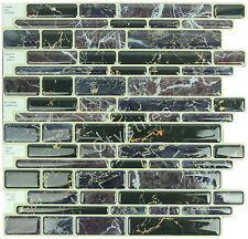 "Crystiles® Peel&Stick Self-Adhesive Tiles, Item# 91010889, 10""X10"", Set of 6"