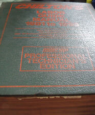 1981-1995 Chilton's Labor Guide Manual Professional Technician's Edition