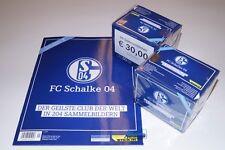 FC Schalke 04 Eurofighter-album + 2 display 100 cartocci nessun PANINI Just stick it