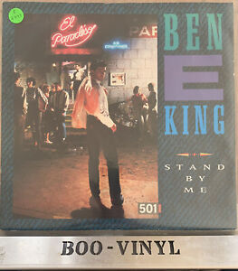 """1987~Ben E. King~Stand By Me~12"""" Vinyl Single A9361T Atlantic Records EX"""