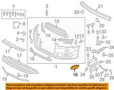 AUDI OEM 16-18 A6 Quattro Front Bumper Grille Grill-Cap Left 4G0955275LGRU