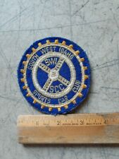 """South West Idaho Sports Car Club  Vintage Jacket patch Embroidered 3& 1/4"""" NOS"""