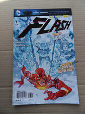 The Flash 7 . ( New DC 52 ) Captain Cold App .  DC 2012 - VF