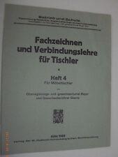 Disegnare specializzata e connessione dottrina per falegname-FASCICOLO 4-per mobili falegname 1928