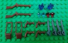 *NEW* Lego Bulk Long Musket Rifles Pistols Swords Gems Crystals for Minifigs