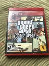 Grand Theft Auto San Andreas (Sony PlayStation 3, 2015) PS3 GTA, W/Poster Tested