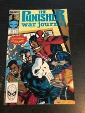 The Punisher:War Journal#14 Incredible Condition 9.4(1990) Spider-Man,Lee Cover!
