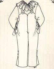 """outfit Clothes boy girl Pattern overalls top fits 13 14"""" Little Darling doll"""