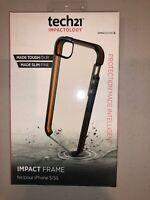 Tech21 Impactology Series Case for Apple iPhone SE/5S/5 Impact Frame - Smokey