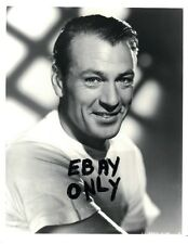 GARY COOPER. VINTAGE PHOTO PORTRAIT, FROM ORIGINAL NEGATIVE,DOUBLE WEIGHT