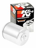 K&N Oil Filter for Harley Davidson FLDE FLFB FLFBS FLHCS FLHR FLHRXS FLHX Chrome