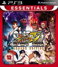 PS3 Game Super Street Fighter 4 IV - Arcade Edition New