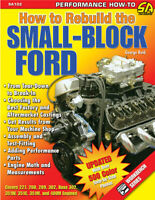How to Rebuild 1962-1995 Small Block Ford V8 Engines 400 351 302 5.0 289 260 221