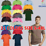 Gildan Premium Cotton Mens T-Shirt Round Neck Plain T Soft Casual Tee Tshirt TOP