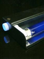 UV Schwarzlicht Set Metall 45cm Schwarz
