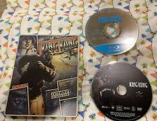 "King Kong ""Extended� Blu Ray & Dvd Steelbook No Digital Code"