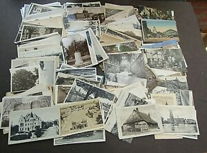 POSTCARDS - FINE VINTAGE MINT/USED COLLECTION OF GERMANY - 1900s/1920 - 150