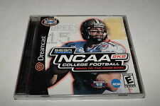 NCAA College Football 2K2 Sega Dreamcast Video Game New Sealed