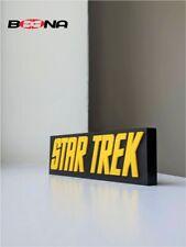 More details for decorative self standing star trek (original) logo display