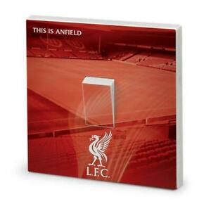 FOOTBALL LIGHT SWITCH SURROUND COVER VINYL KIDS BEDROOM DECAL WALL ART LIVERPOOL