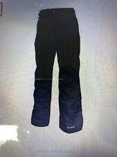 Columbia Men's Size Large Black Insulated Snow/ski Omni-tech Waterproof Pants