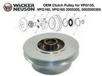 Wacker OEM Clutch Pulley For VPG155 VPG160 VPG165 Compactor 2005305, 5002005305