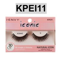 b4935cd000a I ENVY BY ICONIC COLLECTION 3D ANGLE & VOLUME EYELASHES # KPEI11 NATURAL  ICON