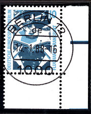 51) Berlin SWK 798 FN 0 Formnummer 10 Pf Eckrand 4 EUR mit EST Berlin 12 m Gummi