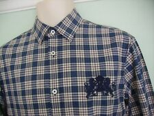 NEW JOULES BURGHLEY THREE DAY EVENT STAMFORD CHECKED SHIRT SZ XS/S HORSE TRIALS