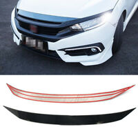 Front Hood Strip Cover Trim for Honda Civic 10TH GEN 2016 2017 2018 st