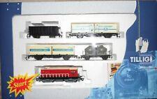 Modellesienbahn Spur TT Güterzug mit Diesellok BR 107 001-0