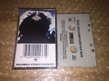 Bob Dylan Greatest Hits Cassette Tape Used Tested