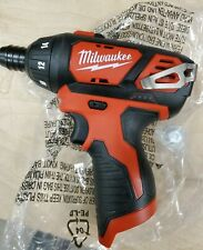 "Milwaukee 2401-20 1/4"" Hex Cordless Screwdriver M12 12V Li-Ion NEW FREE SHIPPING"