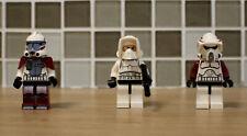 Figurines LEGO STAR WARS 3 Clone Shock Trooper avec Arme