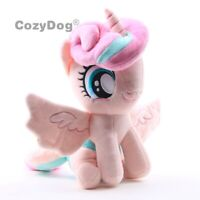 Cartoon Flurry Heart Plush Toy Horse Soft Stuffed Animal Doll Unicorn Figure New
