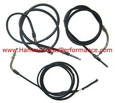 Go-kart parts, Hammerhead/Carter most Chinese 150cc 3-pk cable kit External Rev