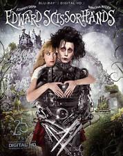 Edward Scissorhands (Blu-ray Disc, 2015, 25th Anniversary) NEW