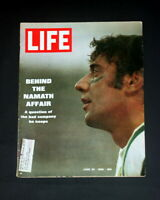 LIFE MAGAZINE JUNE 20 1969 JOE NAMATH