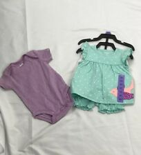 Carters Babt Girl 4 Pieces Set size 3m