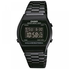 Casio B640WB-1BEF Classic Digital Watch with Stainless Steel Band Black with ...