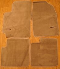 New Toyota Solora Brown Carpet Floor Mats 01-04 Free Shipping