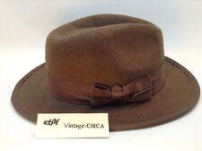 OFFICIAL INDIANA JONES Explorer Felt Wool Hat - Halloween Costume Brown Large