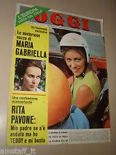 OGGI=1967/39=PINO DONAGGIO=LORENZO BANDINI=FRANCO FRANCHI CICCIO INGRASSIA=